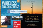 Wireless Crash Course x 2, Paul Bedell, McGraw-Hill, DePaul University, Amazon.